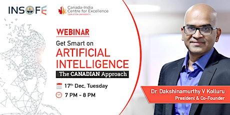 Webinar - Get Smart on Artificial Intelligence - The CANADIAN Approach tickets