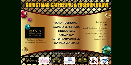 CHRISTMAS GATHERING AND FASHION SHOW tickets