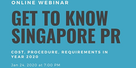 Understanding Singapore PR Application For Expats & How to Apply PR Online Tickets