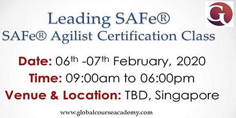 Leading SAFe®4.6 Certification tickets