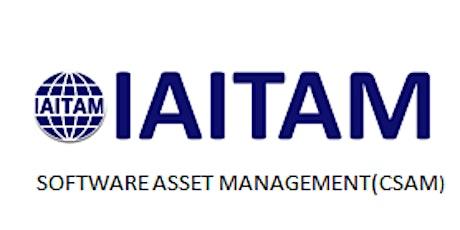 IAITAM Software Asset Management (CSAM) 2 Days Training in Leeds tickets