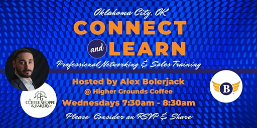 Oklahoma City, OK: Connect & Learn | Professional Networking and Sales Training