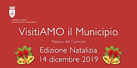 VisitiAMO il Municipio edizione natalizia 2019 biglietti