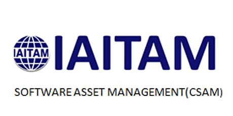 IAITAM Software Asset Management (CSAM) 2 Days Training in Vienna tickets