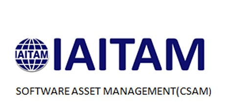 IAITAM Software Asset Management (CSAM) 2 Days Virtual Live Training in Vienna Tickets