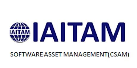 IAITAM Software Asset Management (CSAM) 2 Days Training in Nottingham tickets