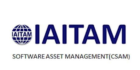 IAITAM Software Asset Management (CSAM) 2 Days Virtual Live Training in United Kingdom tickets