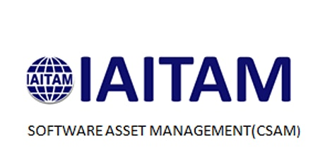 IAITAM Software Asset Management (CSAM) 2 Days Training in Helsinki tickets