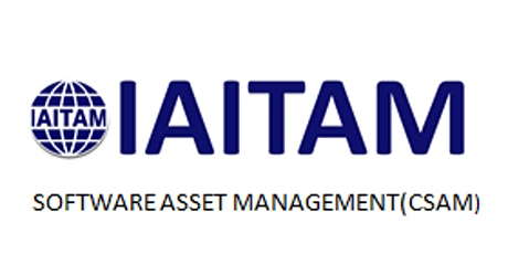 IAITAM Software Asset Management (CSAM) 2 Days Virtual Live Training in Vancouver tickets