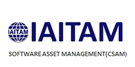 IAITAM Software Asset Management (CSAM) 2 Days Virtual Live Training in United States tickets