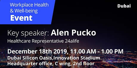 Workplace Health  & Well-being Event tickets