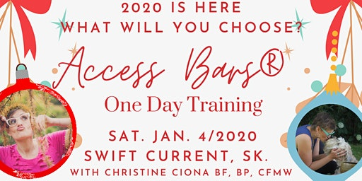 ACCESS BARS ONE DAY TRAINING - Swift Current
