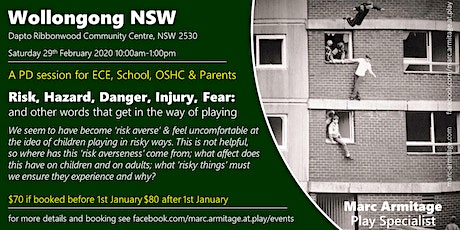 Risky Dodgy Dangerous Play - in Wollongong NSW tickets
