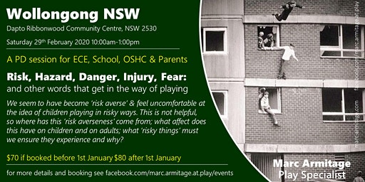 Risky Dodgy Dangerous Play - in Wollongong NSW