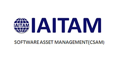 IAITAM Software Asset Management (CSAM) 2 Days Virtual Live Training in Helsinki