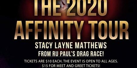 The 2020 Affinity Tour; Bisbee tickets