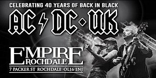 AC/DC UK - Europe's premier tribute to AC/DC