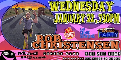 Rob Christensen as seen on NBC's Last Comic Standing, Comedy Central & more