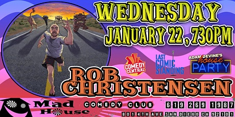 Rob Christensen as seen on NBC's Last Comic Standing, Comedy Central & more tickets
