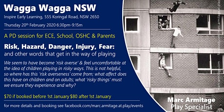 Risky Dodgy Dangerous Play - in Wagga Wagga NSW tickets