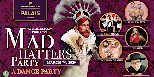 La-Cabaris'gay presents: The Mad Hatters Dance Party