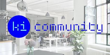 KI Community & Networking - für Interessierte und Anwender von KI Tickets