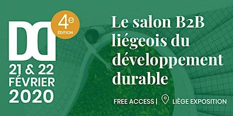 DD Salon liégeois du développement durable /exercice/  billets