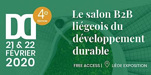 DD Salon liégeois du développement durable /exercice/