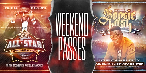 Boosie Bash 2020 Weekend Pass