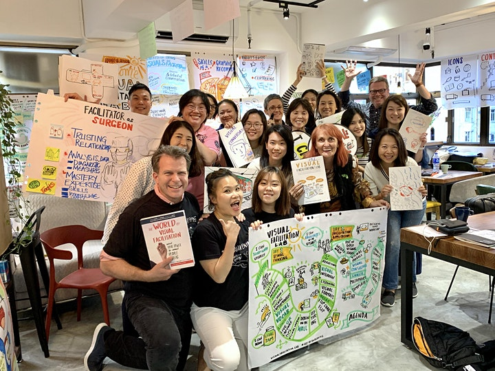 Art of Awakening Visual Facilitation Lab - Hong Kong ( Sep. 25-26, 2020) image