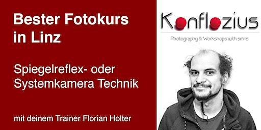Spiegelreflex- oder Systemkamera Technik (3-teiliger Kurs)
