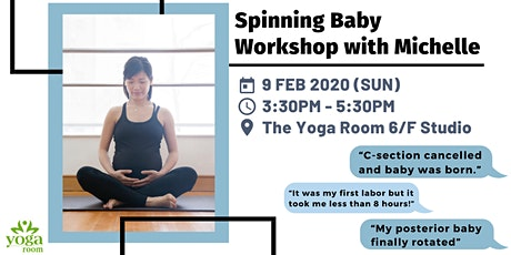 Spinning Baby Workshop with Michelle tickets