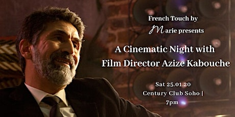 A Cinematic Night with Paris-based Director Azize Kabouche tickets