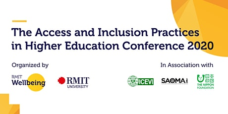 Access and Inclusion Practices in Higher Education Conference 2020 tickets