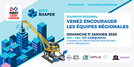 Compétition de robotique  : First Lego League Challenge 2020 : City Shaper billets