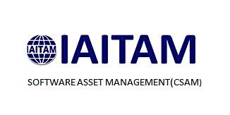 IAITAM Software Asset Management (CSAM) 2 Days Training in Philadelphia, PA