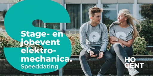 Stage- en jobevent Bachelor Elektromechanica.  Speeddating