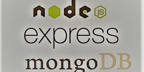 NodeJS, Express and MongoDB Training Course tickets