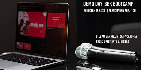 Demo Day BBK Bootcamp entradas