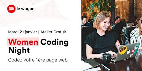 Women Coding Night : Créez votre 1ère page web ! billets
