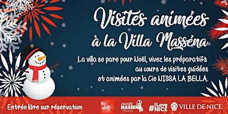 Noël à la Villa Masséna billets