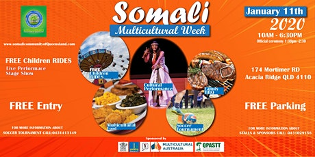 Somali Multicultural Week tickets