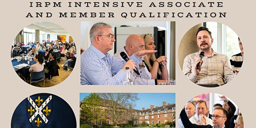 IRPM Intensive Associate and Member Qualification - Oxford Weekend