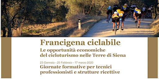 Cicloturismo nelle Terre di Siena - Formazione per Tecnici Professionisti