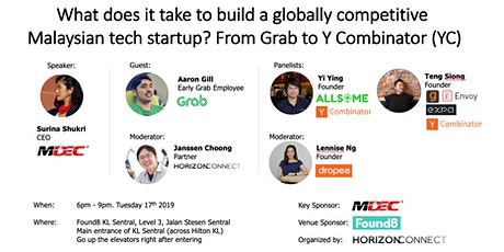 Building a globally competitive Malaysian tech startup: From Grab to YC tickets