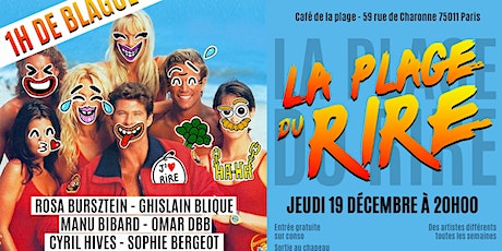 La Plage Du Rire #8 - Spectacle de Stand up billets
