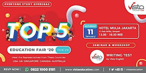 TOP 5 Favorite Countries Education Fair 2020