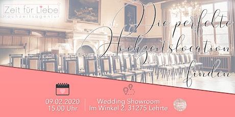 Workshop: Die perfekte Hochzeitslocation finden - Darauf kommt es an! Tickets