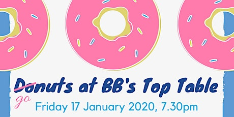 Donuts at BB's Top Table tickets