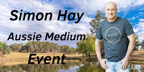 Aussie Medium, Simon Hay, at The City Bowling Club in Orange, NSW tickets